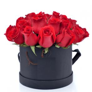 Caja redonda 20 Rosas
