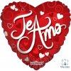"Globo Metálico 18"" - Amor"