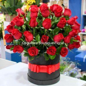 Cilindro de 50 Rosas